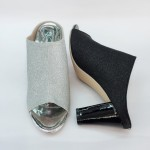 10 CM BIG HIGH HEELS BLING BLING SHOES