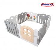 image of Haenim Toy Petit Baby Room - Grey (8 Panels)