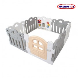 image of Haenim Toy Petit Baby Room - Grey (8 Panels)