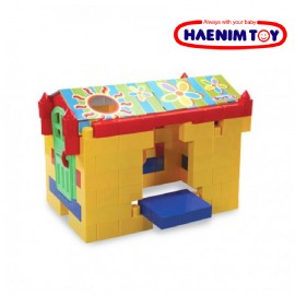 image of Haenim Toy Kiddy Big Block Plus (92 Pcs)