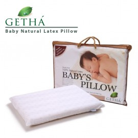 image of Getha Baby Natural Latex Pillow 6M+ (45 X 31 X 4cm)