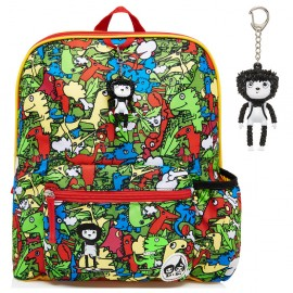image of Babymel Kid's Junior Backpack Dino Multi