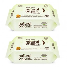 image of Natural Organic Original Baby Wipes 30s Twin Pack