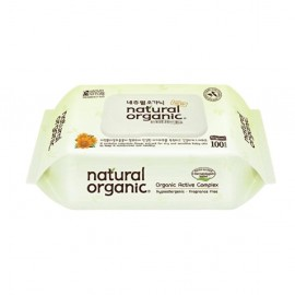 image of Natural Organic Original Baby Wipes 100s