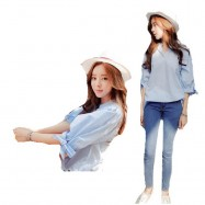 image of Korean style ,Plus size office wear for ladies, Size M-3X