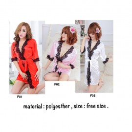 image of Ready stocks ! Buy 4 free 1 ,11designs available to choose , sexy robe