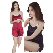 image of LACE PYJAMAS ( set of 2 separated top and bottom)