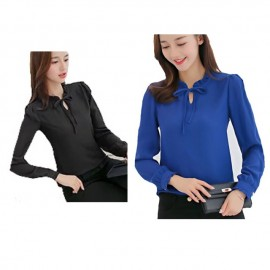 image of Korean style ,Plus size office wear for ladies, 3 colors ,S-XXL