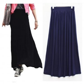 image of Ladies long skirt with 5 colours available to choose
