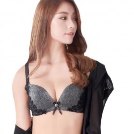 image of Ready stocks !! Black colour , designer Push up bra on sales