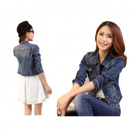 image of Jeans jacket for ladies - READY STOCKS