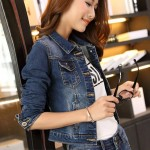 Jeans jacket for ladies - READY STOCKS