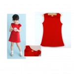 Red dress for baby girls