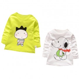 image of Kids cotton long sleeve shirt for sales