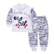 image of Baby girls and boys pyjamas, for age 3MO-3 YO. BUY 3 get free gift