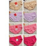 Ready stock_5 pcs set , random DESIGN.ladies cotton underwear, buy 4 free 1 set