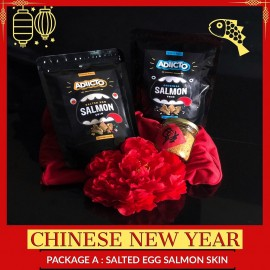 image of Adiicto-CNY Box-Package A Salted Egg Salmon Skin[Salted Egg Fish Skin][Chinese New Year][CNY][Fish Skin][Salmon Skin]