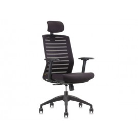 image of Apex Office Chair Mesh Series Collection Line (CH-LNB-HB-A83-HLB1) Black Frame