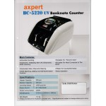 AXPERT NOTE COUNTER BC-5220