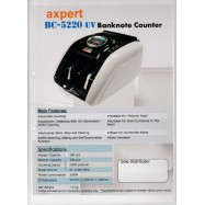 image of AXPERT NOTE COUNTER BC-5220