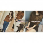 NJ EuropeFashion Stylish Velvet Trendy Top
