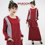 NJ Pockets Design Modern Kurung - Top + Skirt