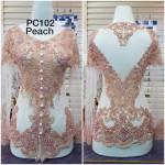 NJ Boutique Exclusive Beads Kebaya with Corset +PARIO