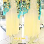 NJ Fashion Gradient Color Pleated Chiffon Skirt