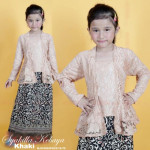 READYSTOCK  NJ KIDSCollections PradaLace Syakilla Kebaya with Batik Skirt