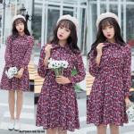 NJ SeoulFashion Pretty Floral Dress