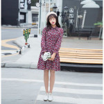 NJ SeoulFashion Pretty Floral Dress