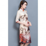 NJ InspiredCollection Folk Classic Design Cheongsam