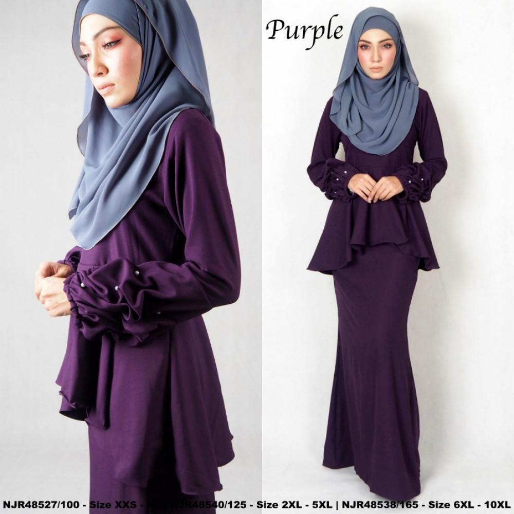 NJBoutique.RTW Exclusive Baju Kurung Collections - Purple