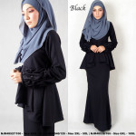 NJBoutique.RTW Exclusive Baju Kurung Collections - Black
