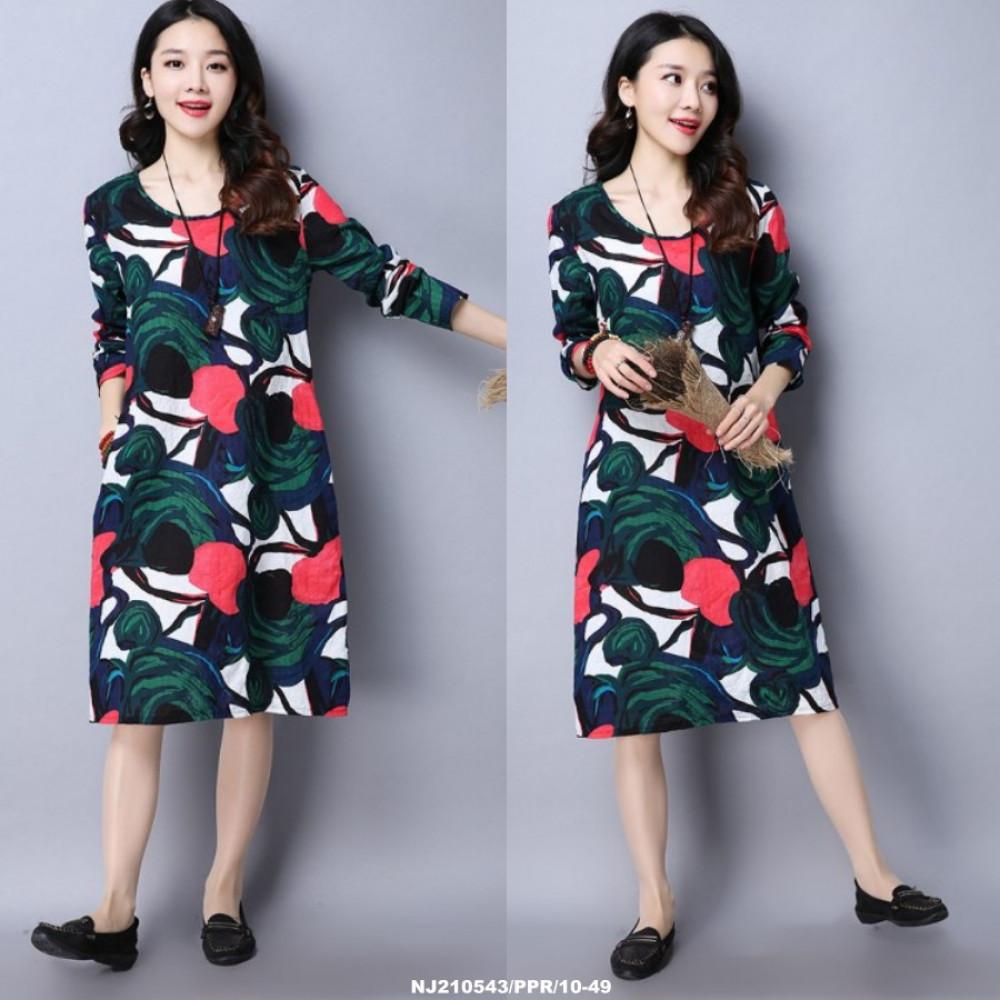 NJ SeoulFashion Trendy Maxi Dress