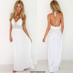 NJ EuropeFashion Lace Maxi Dress