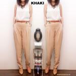 NJ Fashion Waist Stretchable Skinny Pants