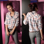 Checker Button Top [Clearance Sale]
