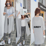 NJ EuropeFashion Casual Long Cardigan