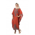 NJ DesignerCollections Embroidery Kaftan