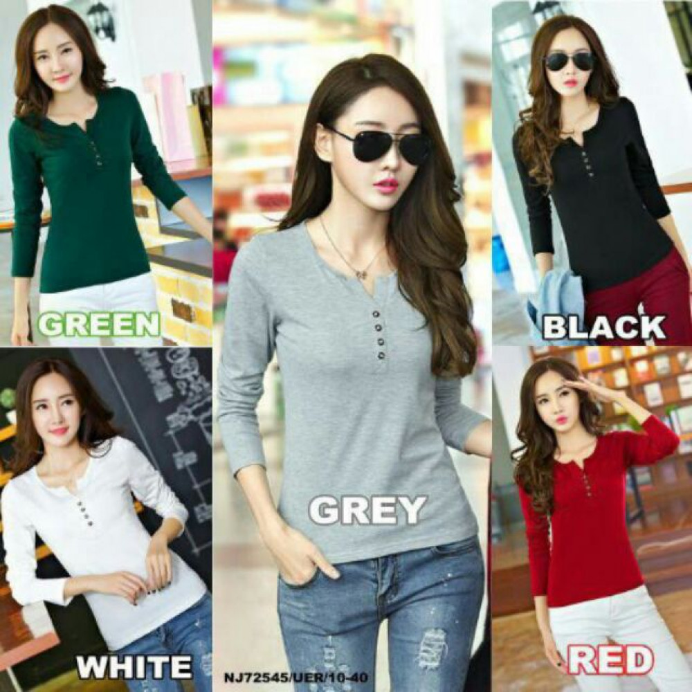 NJ Fashion Stylish Long Sleeve Top