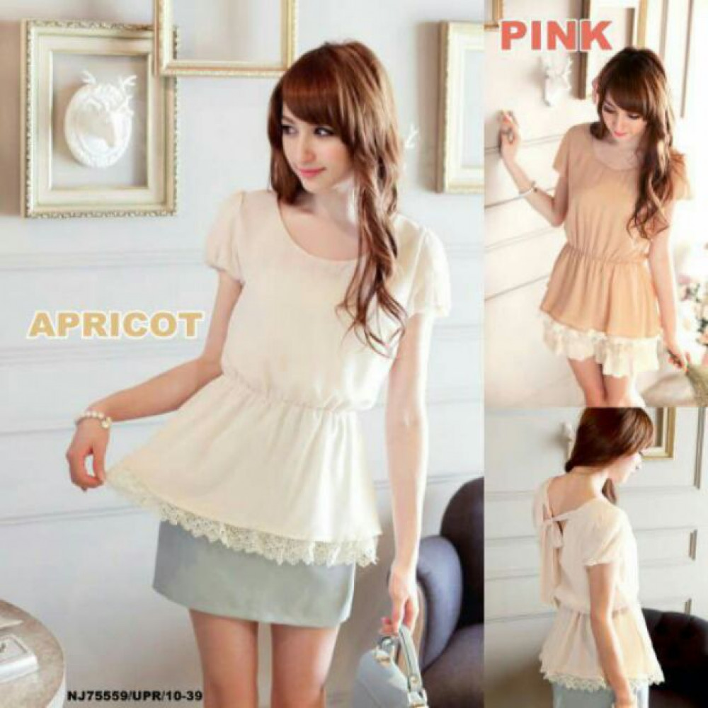 NJ EuropeFashion Lovely Top with Inner