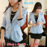 NJ SeoulFashion Exclusive OL Style Blazer