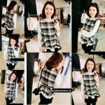 NJ Fashion Checker Stylish Top