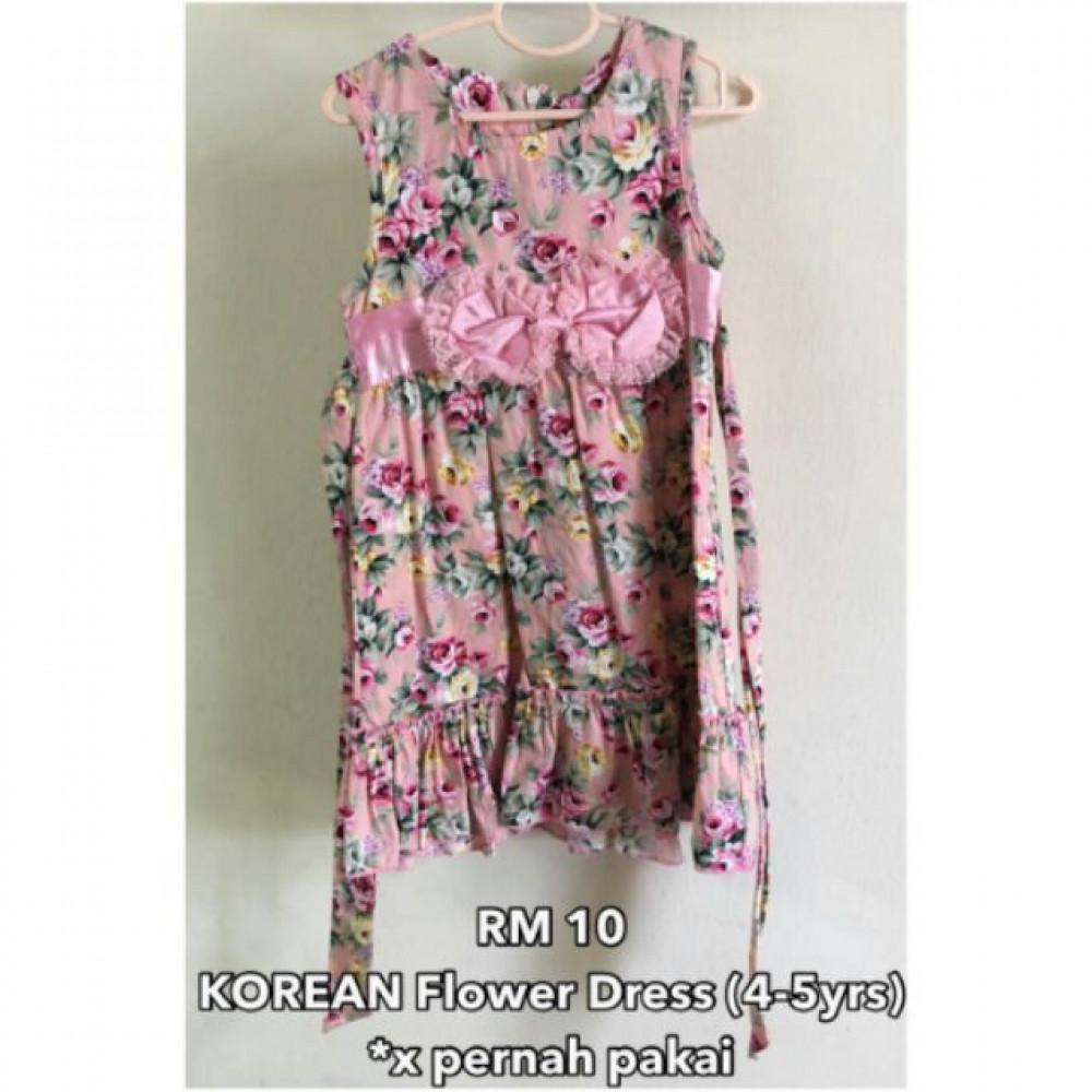 NJ Korea Flower Kids Dress