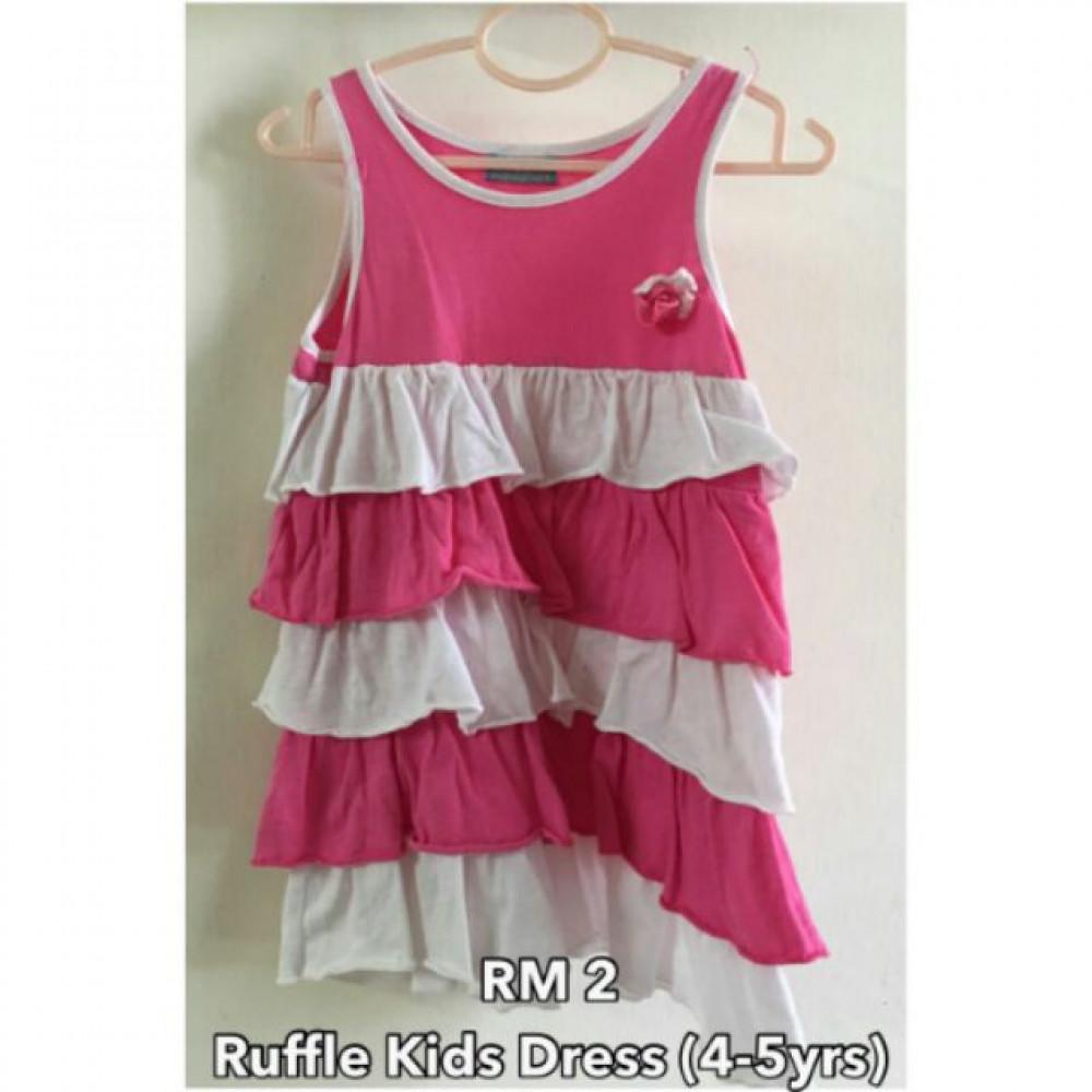 NJ Ruffles Kid Dress