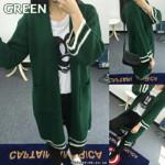 NJ Fashion Knitted Long Cardigan