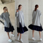 NJ Fashion Dress Grey