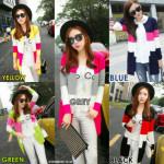 NJ Fashion Trendy Colouful Cardigan