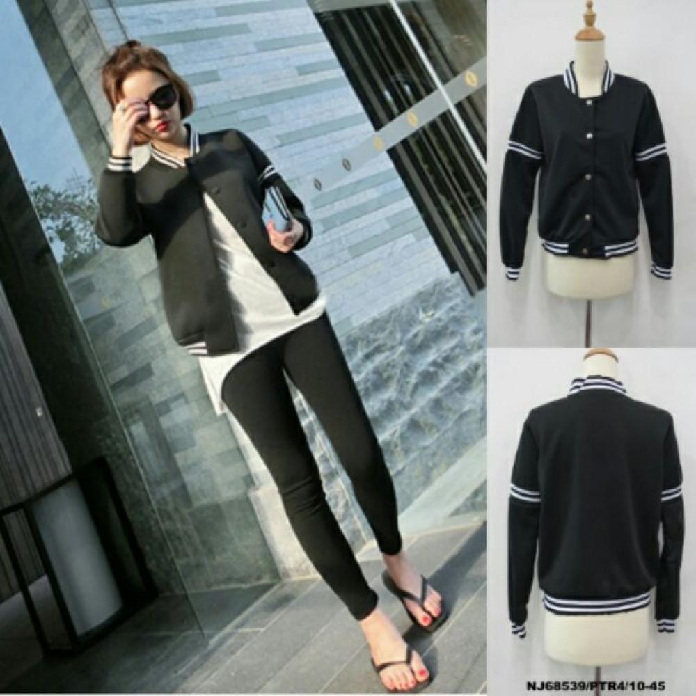 NJ Stylish Jacket Black